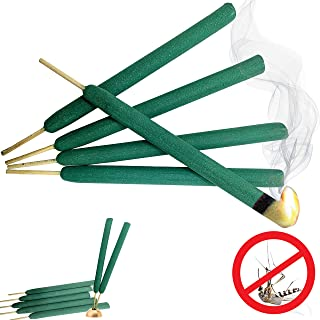 W4W Mosquito Repellent Sticks Extra-Thick - Outdoor Use Reaches Up to 10-12 feet - Each Stick Burns for 5-7 Hours - (Three Pack Contains 15 Repellents)