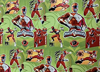 Best power ranger gift wrapping paper Reviews