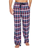 Tommy Bahama - Brushed Twill Flannel Plaid Pajama Pants