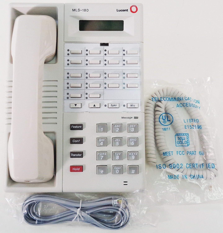 Avaya Reservation Partner MLS-18D Popular overseas 2-Line Display - White Phone 108236712