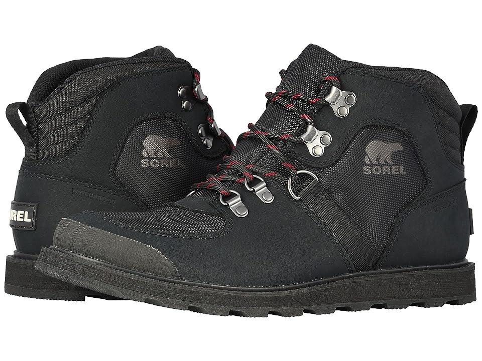 SOREL Madsontm Sport Hiker Waterproof (Black) Men
