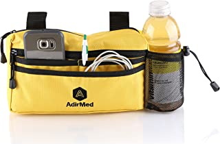 AdirMed Wheelchair Pouch - Rollator Pouch - Walker Pouch - Yellow