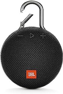 JBL Clip 3 Portable Waterproof Wireless Bluetooth Speaker - Black, JBLclip3Blk