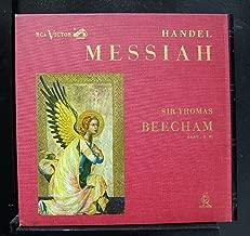 Beecham - Handel Messiah - Lp Vinyl Record