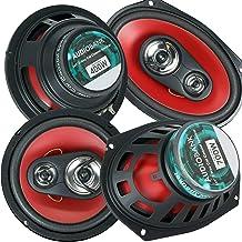 "$64 » Audiobank 6x9 700W 3-Way + 6.5"" 400W 4-Way Car Audio Stereo Coaxial Speakers"
