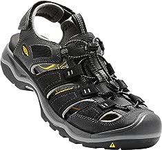 KEEN Men's Rialto h2 Sandal, 9 M US, Black/Gargoyle