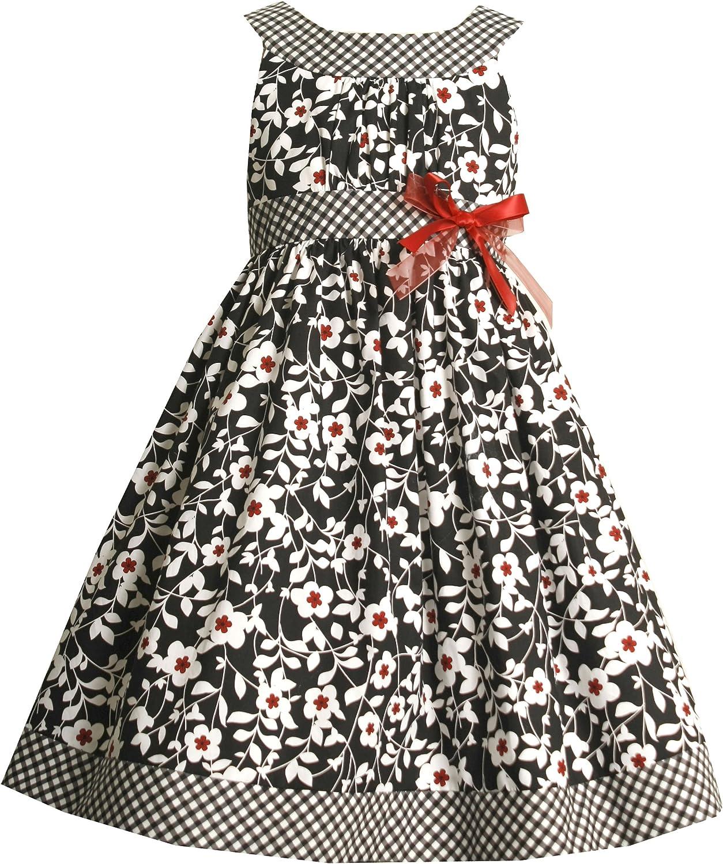 Bonnie Jean Little Girls' Allover Ditsy Print Dress