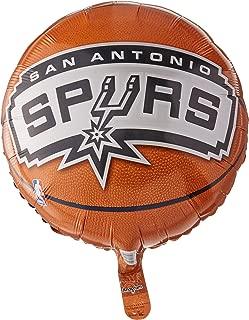Anagram International A11373102 Hx San Antonio Spurs Party Balloon, Standard, Multicolor