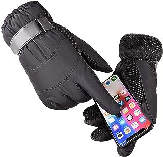Guanti da Snowboard Impermeabili con para Polso Rimovibile /& Isolamento 3M Thinsulate Touch Screen XS//S//M//L devembr Guanti da Sci Uomo /& Donna Antiscivolo Guanti da Neve in Materiale PU Duraturo