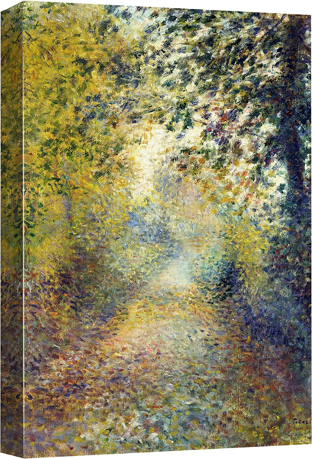 wall26 Canvas Print Wall Max 86% OFF Art The Courier shipping free Renoir by Pierre Hi People Wood