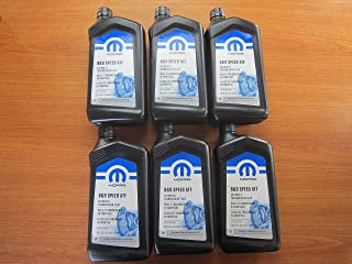 Mopar Chrysler Dodge Jeep Ram 8 and 9 Speed Automatic Transmission Fluid New Case of 6