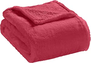 Elle Decor High-Pile Plush Oversized Throw - Faux Fur Soft Blanket for Bed and Couch - Oversized Throw 60