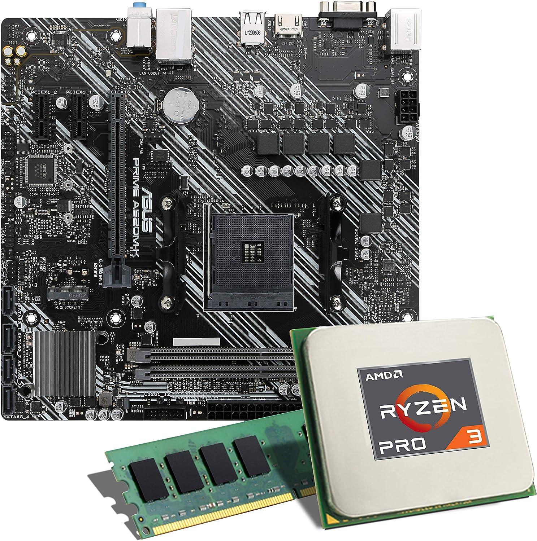 Amd Ryzen 5 Pro 4650g Asus Prime A520m K Mainboard Elektronik