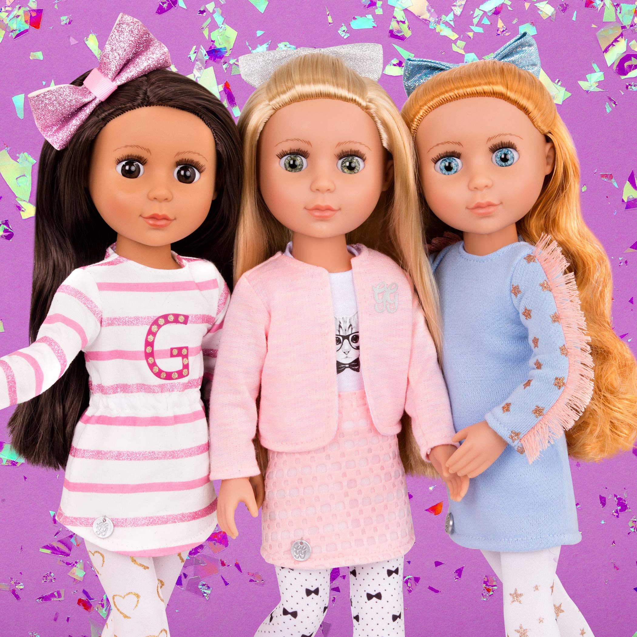 Glitter Girls Dolls by Battat - Fifer 36cm Fashion Doll – Toys, Clothes and Accessories For Girls 3-Year-Old and Up