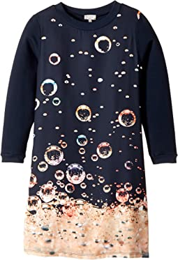 Paul Smith Junior - Long Sleeves Dress w/ Bubbles Print (Big Kids)