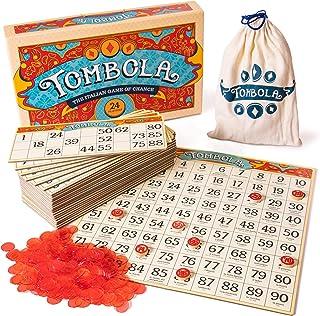 Tombola Bingo Board Game   The Italian Game of