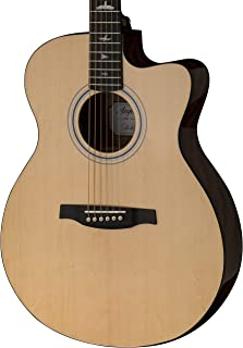 PRS Paul Reed Smith SE Angelus AX20E Full Size Single Cutaway Acoustic/Electric Guitar with Hard-Shell Case