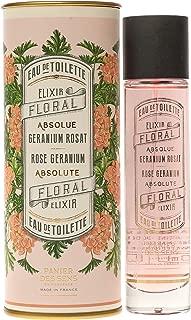 Panier des Sens Eau De Toilette, Rose Geranium, 1.7 Ounce