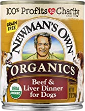 Newman'S Own Organics Beef & Liver Dinner For Dogs, 12-Oz (Pack Of 12)