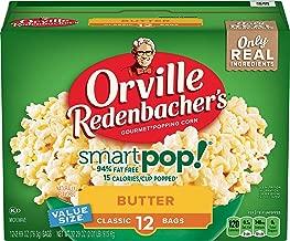 Orville Redenbacher's SmartPop! Butter Microwave Popcorn, 2.69 Ounce Classic Bag, 12-Count, Pack of 6