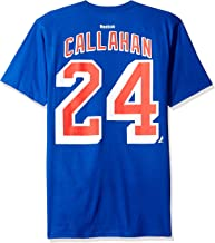 Ryan Callahan New York Rangers Reebok NHL Player Blue T-Shirt