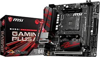MSI B450I Gaming Plus AC - Placa Base Gaming (AM4, AMD B450, 1 x PCI-E 3.0 x16, DDR4 3466+, HDMI, 4 x SATA 6 GB/s)
