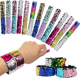 Best magic sequin slap bracelet Reviews