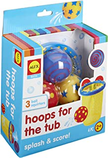 ALEX Toys Alex 694-5 Hoops For The Tub Multi Color