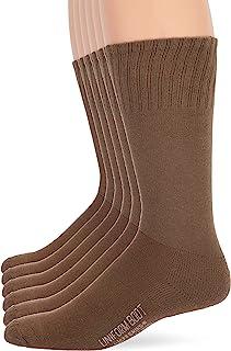 Jefferies Socks Men's Military Uniform All Season Rib Top Crew Boot Socks 6 Pack