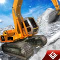 Snow Plow Winter Simulator Excavator Driver 3D: Heavy Snow Excavator Crane Real Driver Rescue Adventure Survival Mission Games Free For Kids 2018