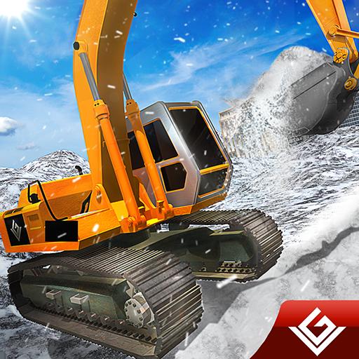 Schneepflug Winter Simulator Bagger...