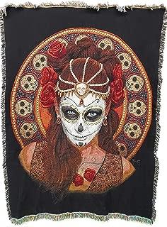 Best dia de los muertos blanket Reviews
