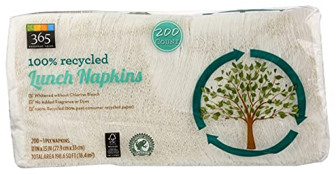 365 Everyday Value, Lunch Napkins, 200 ct
