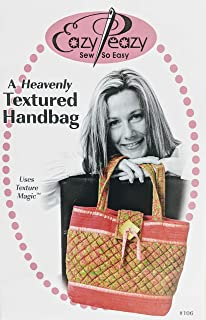 Eazy Peazy Sew So Easy - A Heavenly Textured Handbag - Sewing Pattern EPQ106