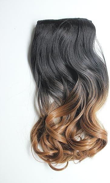 Extensiones de cabello ondulado degradado: Amazon.es: Belleza