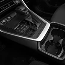 CupHolderHero for Toyota RAV4 2019-2020 Custom Fit Cup Holder, Door, and Center Console Liner Accessories 13-pc Set (Solid Black)