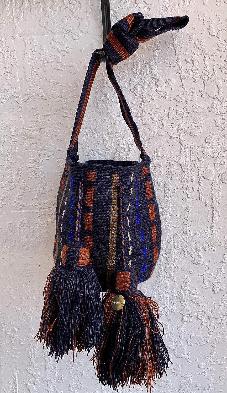 Gifts Premiun One 4 years warranty Thread Crossbody Mochila Wayuu Small Crochet Bag 1T