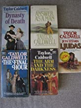 Taylor Caldwell The Final Hour, Dynasty of Death, Answer as a Man, The Arm and the Darkness, I,Judas (5 Paperbacks)