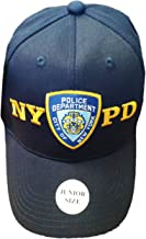 NYC FACTORY NYPD Junior Kids Baseball Hat Police Department of New York Navy Blue Boys