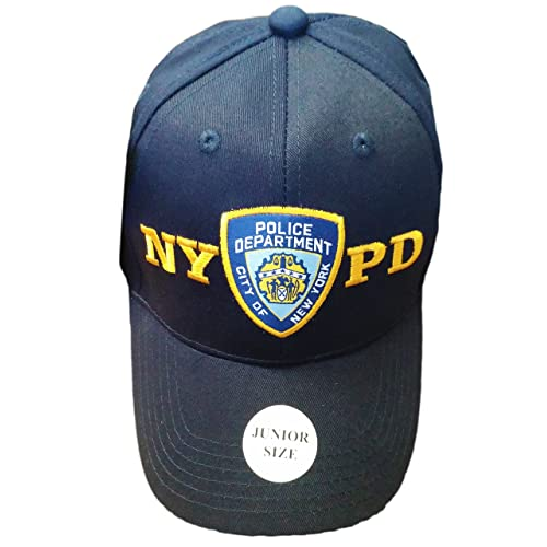 b50f71f5c10 NYC FACTORY NYPD Junior Kids Baseball Hat Police Department of New York  Navy Blue Boys