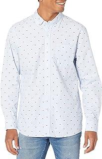 Goodthreads Men's Standard-Fit Long-Sleeve Dobby Shirt