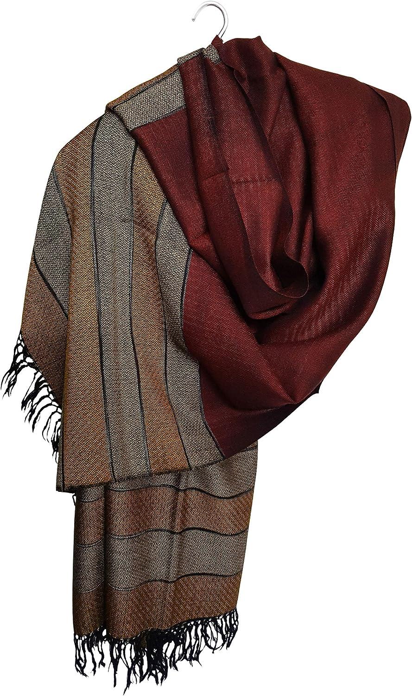 Mehrunnisa Handcrafted Premium Pure Wool Shawl  Unisex