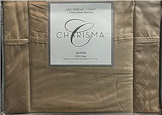 Charisma 420 Thread Count Queen Sheet Set Crockery