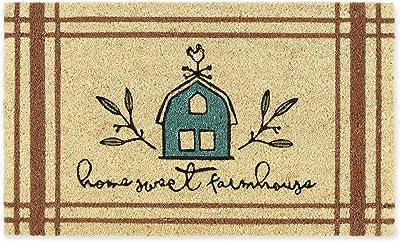 DII Spring/Summer Doormat, 18x30x0.5, Home Sweet Farmhouse