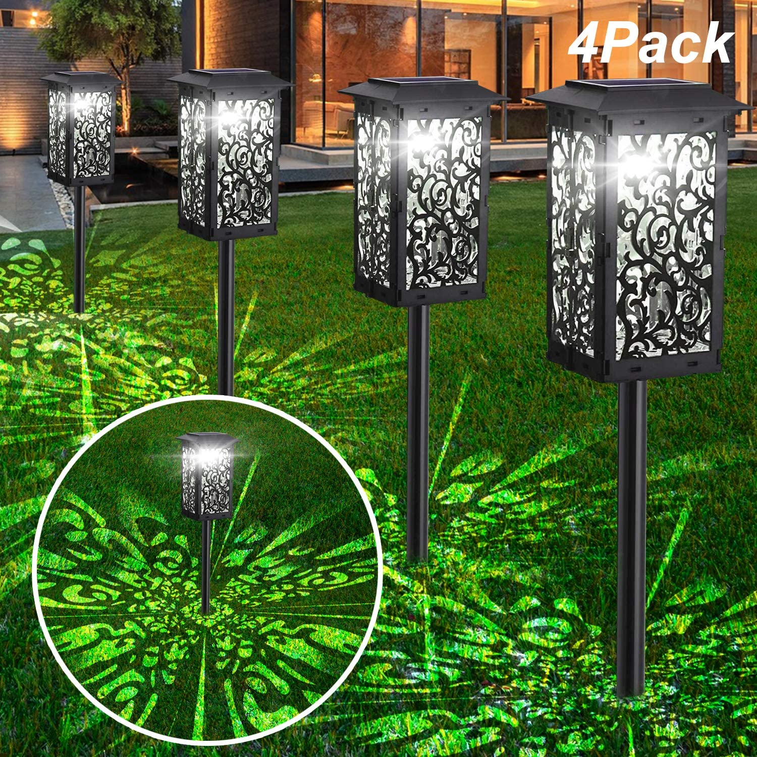 Factory outlet Upgrade Solar Lights Bright Japan's largest assortment Pathway IP65 Outdoor Waterproof Lan