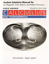 Best single variable calculus early transcendentals jon rogawski Reviews