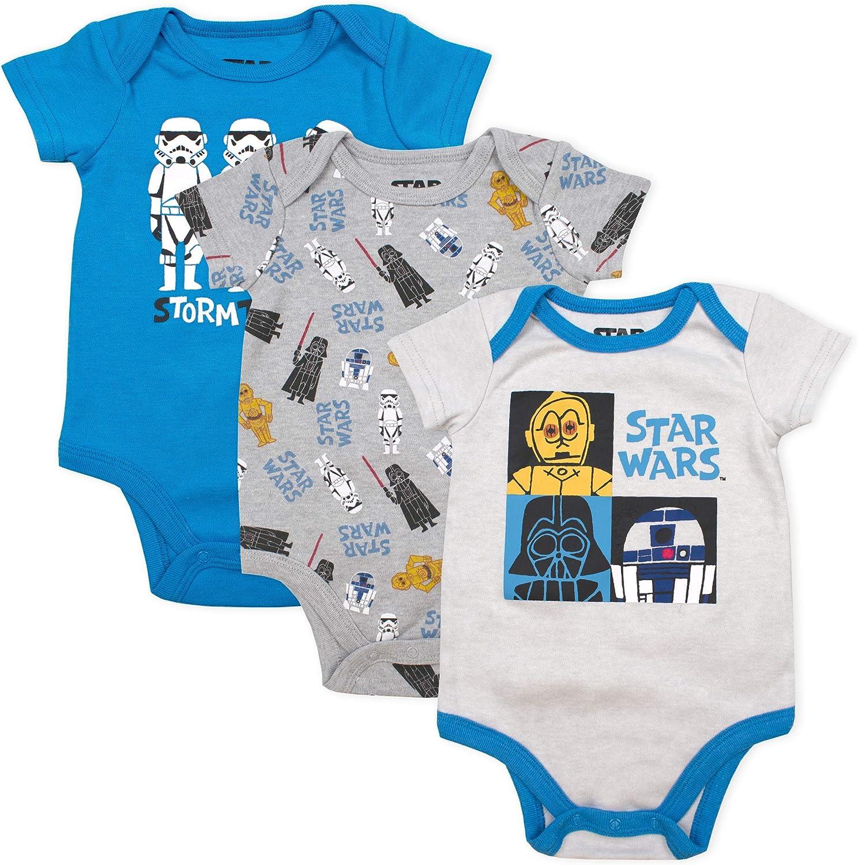 4. Star Wars Baby Bodysuit Onesie Creeper (for Newborn and Infant Boys)