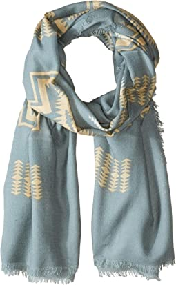 Oversize Featherweight Wool Scarf