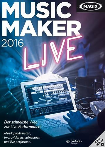 MAGIX Music Maker 2016 Live [Download]
