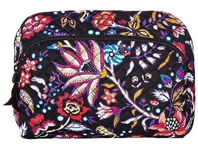 Vera Bradley Lay Flat Cosmetic (Foxwood) Handbags